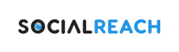 Social Reach Marketing Logo Dark